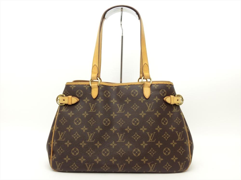 b983c54616279 Details about Louis Vuitton Authentic Monogram BATIGNOLLES HORIZONTAL Tote  Shoulder Bag Auth